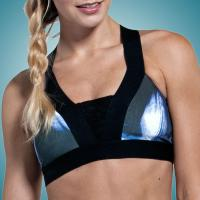 Buy cheap High Impact Sports Bra Yoga Ladies Exercise Clothing , XS S M L XL Size from wholesalers