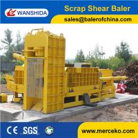 Buy cheap Best price Scrap Metal Shearing Baler Machine to cut and press waste copper & aluminum export from wholesalers