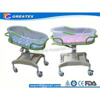 Buy cheap Transparent PP Mobile Hospital Baby Bed / Cot / Crib for infant with music display from wholesalers