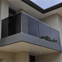 Buy cheap Australia Standard Glass Frameless Glass Railing from wholesalers