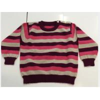 Buy cheap Knit Toddler Sweater Long Sleeve , Kids Wool Sweaters 100% Cashmere from wholesalers