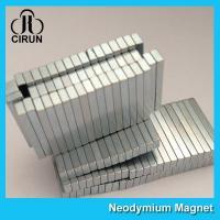Buy cheap 12000 Gauss Super Strong Neodymium Magnet Bar Shaped Anti - Corrosion product
