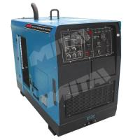 Buy cheap 500A Single phase Industrial Steel Pipe Engine Driven Welding Machine for Structural Steelwork from wholesalers