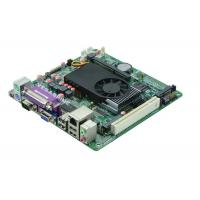 Buy cheap Atom N455 Processor 2 COM Mini Itx Industrial Motherboard  DC Power Supply from wholesalers
