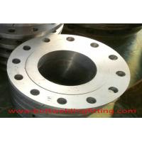 Buy cheap Forged Stainless Steel Flanges And Fittings Carbon Steel Pipe Flanges ASME B16.5 from wholesalers