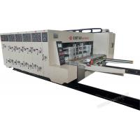 Buy cheap Automatic Printing Slotting Die-Cutter Corrugated Cardboard Making Machine high precision from wholesalers