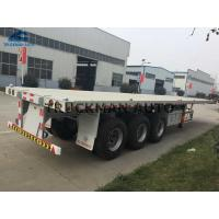 Buy cheap 3 Axles 20 40 45 Feet Container Semi Trailer With Stonger Leaf Spring from wholesalers