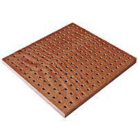 Buy cheap Sound Resistant PVC Perforated Laminated Wooden Gypsum Boards from wholesalers