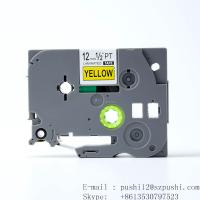 Buy cheap Brother black on white P-touch Label tape cassette for Label Makers TZe631 TZe-631 from wholesalers