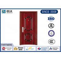 1.0 Hour Fire Rated Garage Entry Door , 8 Fire Hinges Fire Resistant Entry Door