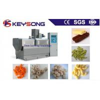 Buy cheap Stainless Steel Food Processing Machinery Corn Puffing Snack Extruder Machine from wholesalers