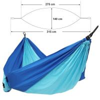 Buy cheap Blue Hammock Swing Bed , Wall Hanging Bed Nylon Material Indoor Outdoor from wholesalers