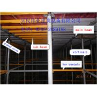 Buy cheap new cuplock scaffolding system for construction with height adjustable from wholesalers