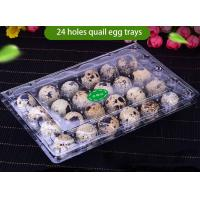 Buy cheap Transparent Recyclable Disposable Plastic Quail Egg Tray 4x6 Range from wholesalers