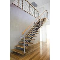 Buy cheap Interior Stainless Steel Wire Rod Railing for building Handrail design product
