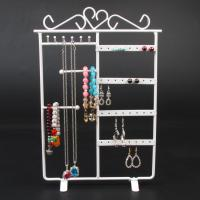 Buy cheap Metal Jewelry Bracelet Necklace Earring Display Stand Rack Jewelry Holder With Bar For Panel from wholesalers