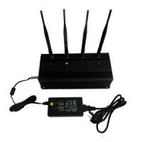 Buy cheap China Signal jammer | 20W High Power 4 Antenna UHF VHF Signal Jammer from wholesalers
