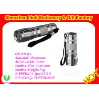 Buy cheap 2011 competitive price Aluminium alloy 9 led waterproof torch light  from wholesalers