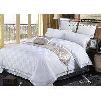 Buy cheap Customized Color/Size Hotel Bedding Collection Sets With Satin Square Design from wholesalers