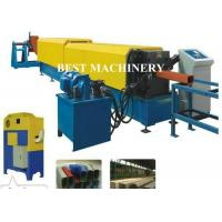 Buy cheap Rectangle Shape Water Down Spout Roll Forming Machine Flying Saw Cutter from wholesalers