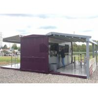 Buy cheap 20ft / 40ft Shipping Container Coffee Shop , Commercial Use Container Coffee House from wholesalers