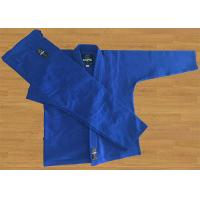 Buy cheap Blue Brazilian Jiu Jitsu Gi 420G Pearl Weave Lapel Bjj Gi Jacket from wholesalers