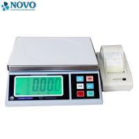 Buy cheap white electronic digital weighing scale / high precision weighing scales product