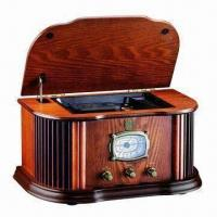 Buy cheap Nostalgic Wooden Music Center with 2 Band High Sensitivity Receivers and Output Power of 2 x 2.0W from wholesalers