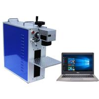 Buy cheap Portable Mini Laser Marking Machine Raycus Fiber Laser Source 20w 50w from wholesalers