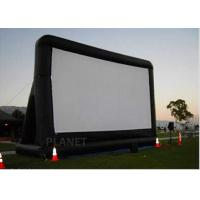 Buy cheap Open Air Inflatable Movie Screen Double Stitching AC 110V / 220V Supply Voltage from wholesalers