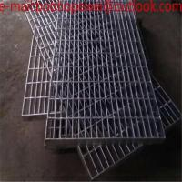 Buy cheap supply galvanized drainage grates/steel grating stairs/concrete steel grating/Heavy Duty Steel Grating Stair/Stainless from wholesalers