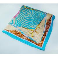 Buy cheap Soft Touching Bright Colors Elegant Silk Scarf product