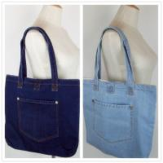 Buy cheap 2016 European style shoulder bag large capacity female denim cloth shopping bag from wholesalers