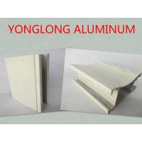 Buy cheap Customized Rectangle Wood Finish Aluminium Profile For Door Corrosion Resistance from wholesalers
