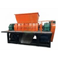 Buy cheap Double Shaft Industrial Shredder Machine For Plastic Waste Container Low Noise from wholesalers