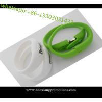 Buy cheap All knids of Promotional Non-standard Customized silicone wristband with USB flash Drive from wholesalers