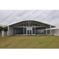 Buy cheap UV - Protection 30 Meters Polygon Tent , Waterproof PVC Octagon Tent White from wholesalers
