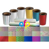 Colorful / Transparent Laser Holographic Film With Patterns 180 - 1880mm Width