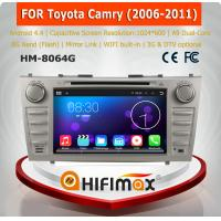 Buy cheap HIFIMAX Android 4.4.4 car dvd gps navigation for TOYOTA CAMRY WITH Capacitive screen+1024*600 Resolution support JBL from wholesalers