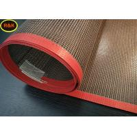 Buy cheap Acid Resistance Teflon Conveyor Belt , Screen Printing Dryer Belt For Food Drying from wholesalers