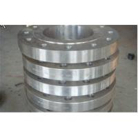Buy cheap Hydraulic Industrial Forged Steel Flanges ASTM A234 / Carbon Steel Plate Flanges Wall Thickness 40 - 800 mm from wholesalers