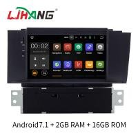 Buy cheap Android 7.1 Citroen Car Stereo DVD Player With FM AM RDS DAB MP3 MP5 from wholesalers