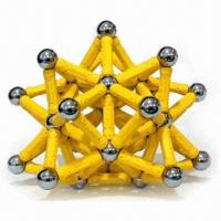 Buy cheap Magnetic Construction Toys, Good to Enhance Children's Understanding, Can Build Up Anything product
