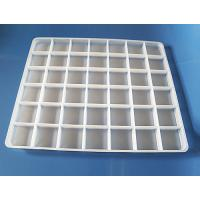 Buy cheap Food grade Disposable Plastic packaging tray for food frozen tray dumpling tray from wholesalers