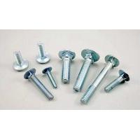 Buy cheap Extra Long Galvanized Carriage Bolts Carbon Steel Material GB / T12 - 85 from wholesalers
