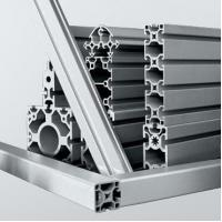 Buy cheap Automated equipment anodized silver aluminum modular extrusion profiles from wholesalers