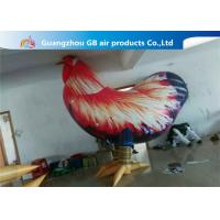 Buy cheap Outside Standing Inflatable Cartoon Characters PVC Rooster Animal Cock Model product