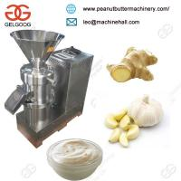 Buy cheap Ginger Garlic Paste Making Machine/Peanut Butter Making Machin/Tomato Paste Making Machine from wholesalers