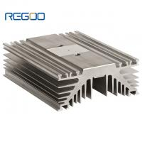 Buy cheap T4 T5 T6 Temper Aluminum Heat Sink , Customized Aluminum Extrusion Heatsink from wholesalers