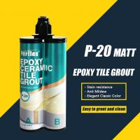 Buy cheap Ready To Go Matt Color Outdoor Porcelain Tile Grout Smooth Paste Appearance P20 from wholesalers